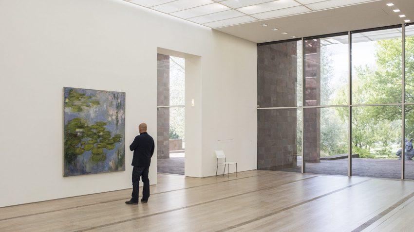 La Fondazione Beyeler di Riehen, a Basilea, è una delle più prestigiose istituzioni museali al mondo