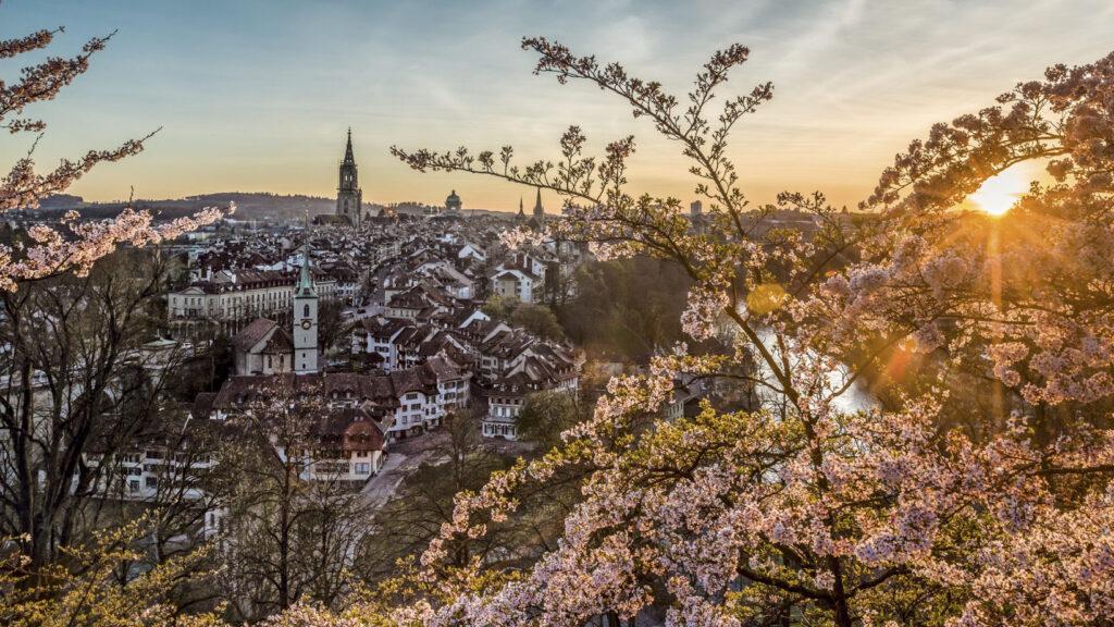 Berna, città piena di fiabeschi giardini