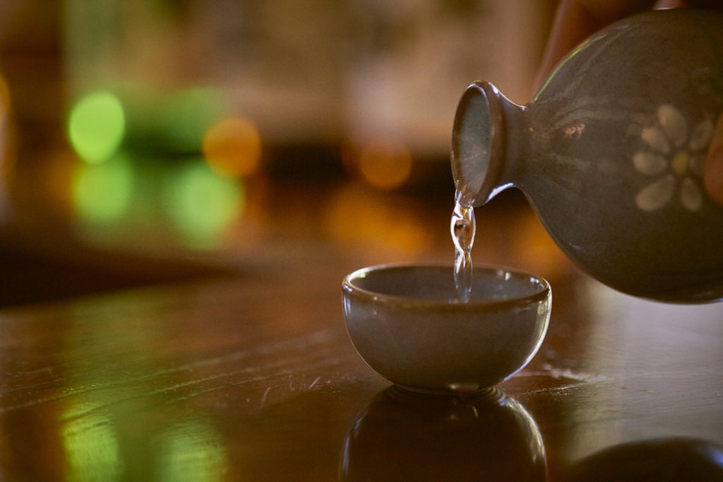 Il saké, bevanda tradizionale giapponese