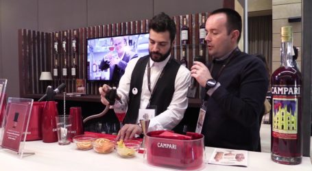 Campari Barman Competition, trionfa Liuzzi