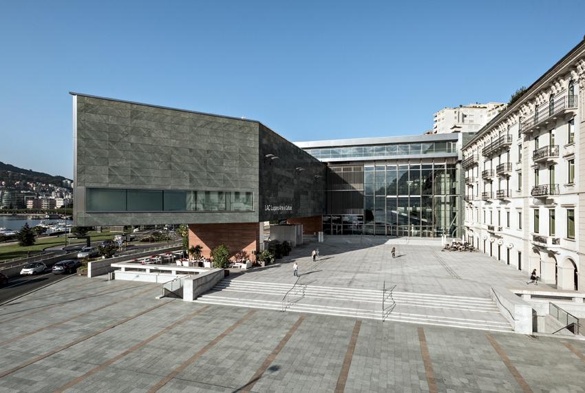 Lugano, centro culturale LAC Lugano Arte e Cultura