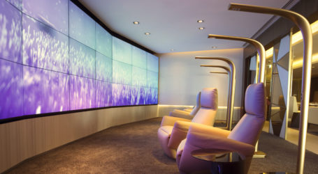 Etihad First Class Lounge & Spa, Relaxation Room