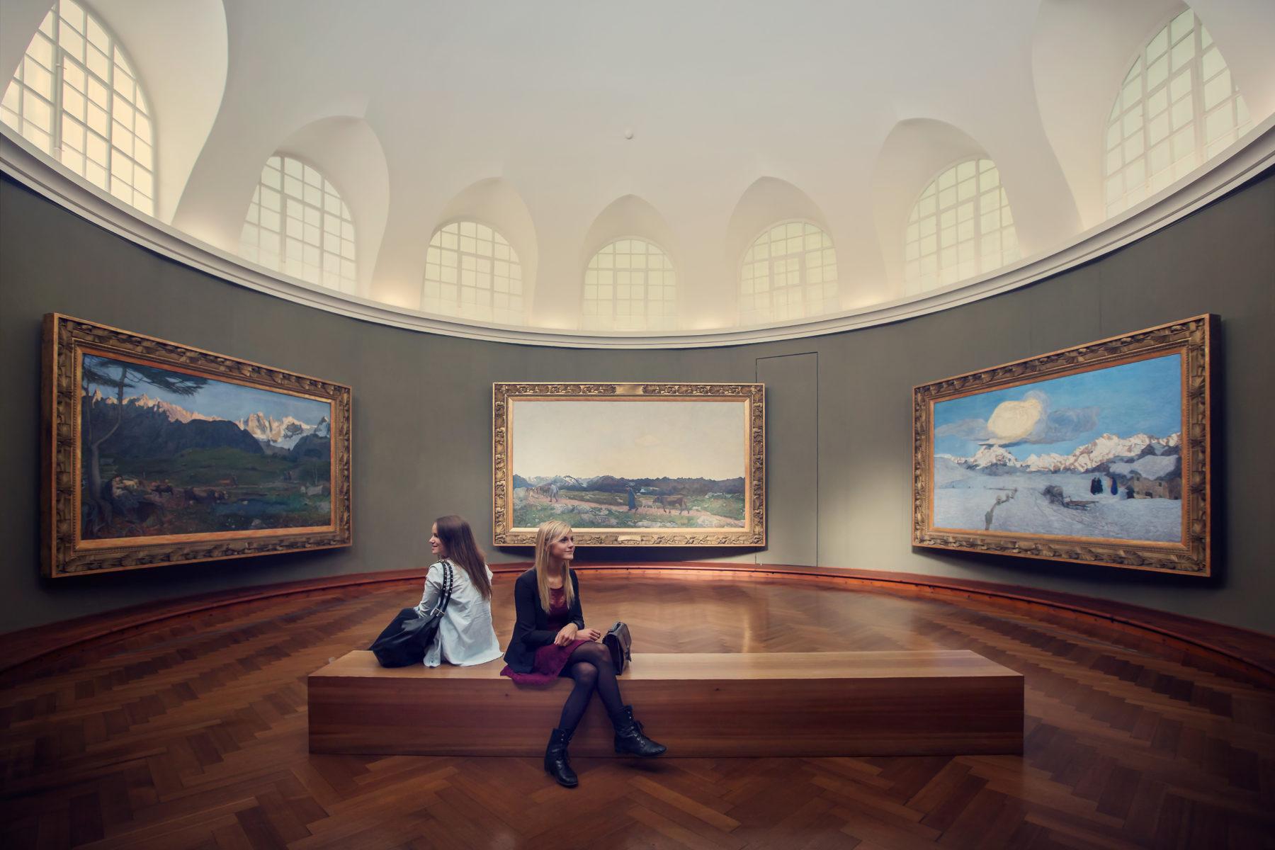 A St.Moritz la mostra dedicata a Segantini by Filip Zuan