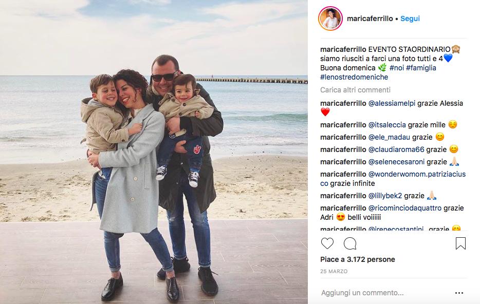 Marica Ferrillo e la sua A romantic mom in blue @instagram