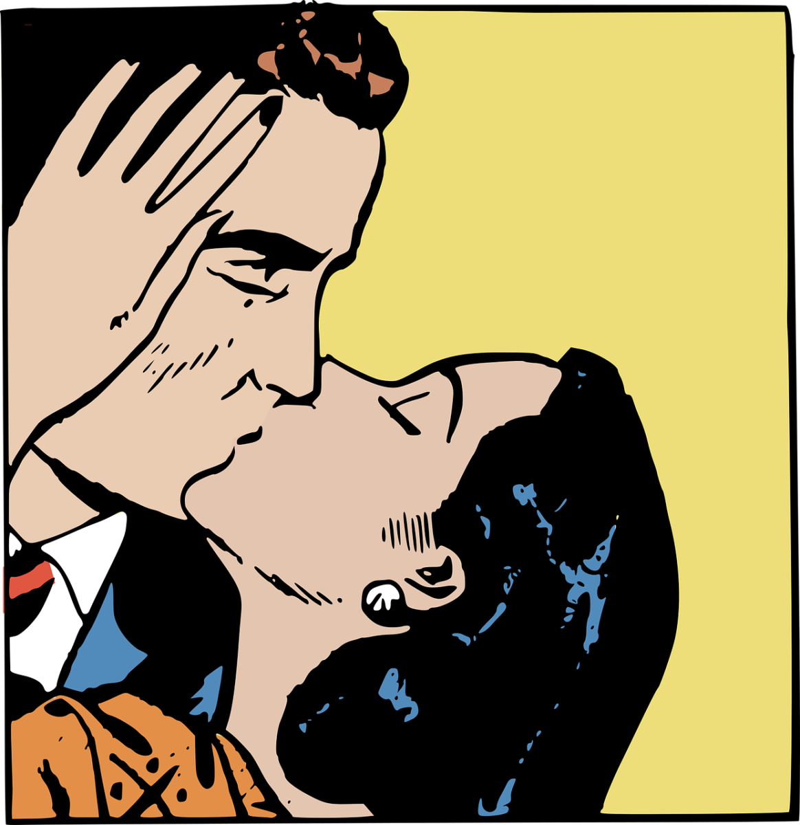 Fumetto al bacio