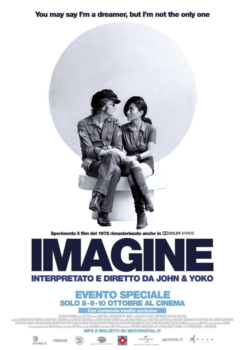 La locandina del film Imagine