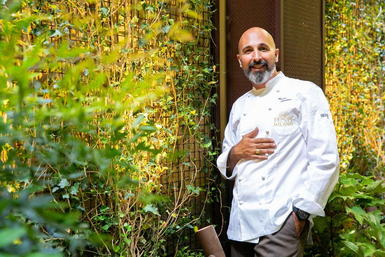 Andrea Ribaldone, executive chef dell'hub di via Romagnosi,3