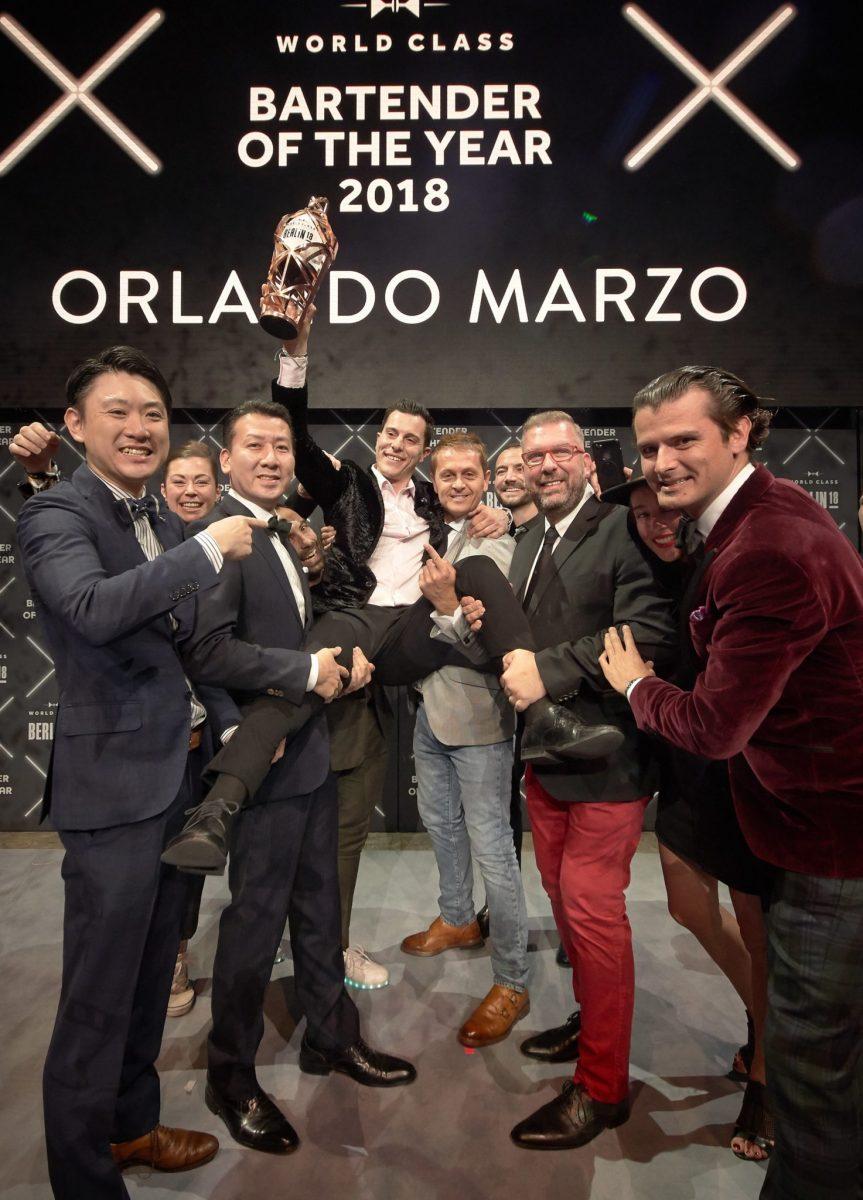Diego Reserve World Class 2018: a Berlino la premiazione dei migliori bartender al mondo